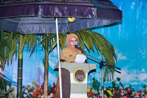 Bupati Sambas Membuka MTQ ke 26 Sambas Tahun 2013 di Kecamatan Tangaran