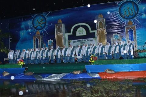 Pembukaan MTQ ke 26 se Kabupaten Sambas di Kecamatan Tangaran Tahun 2013.