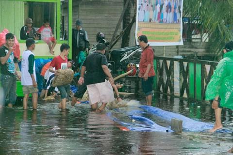 Situasi Menjelang Pembukaan MTQ Tingkat Kabupaten Sambas Tahun 2013